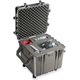 Pelican 0370 cube carry case. Black. (60.9 x 60.9 x 60.9 cm) PRICE INCLUDES VAT & SHIPPING. images