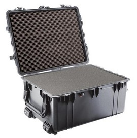 Pelican 1630 hard carry case. Black. (70.3 x 53.3 x 39.4 cm) PRICE INCLUDES VAT & SHIPPING. images