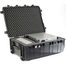 Pelican 1730 hard carry case. Black. (86.3 x 60.9 x 31.7 cm) PRICE INCLUDES VAT & SHIPPING. images