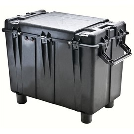 Pelican 0500 transport case. Black. (88.7 x 46.8 x 64.1 cm) PRICE INCLUDES VAT & SHIPPING. images