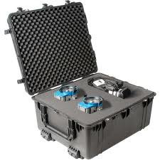 Pelican 1690 hard carry case. Black. (76.2 x 63.5 x 38.1 cm) PRICE INCLUDES VAT & SHIPPING. images