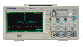 Siglent SDS1102CML+ 100 MHz two channel oscilloscope. PRICE INCLUDES VAT & SHIPPING. images