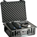 Pelican 1550 hard carry case. Black (46.8 x 35.5 x 19.3 cm) PRICE INCLUDES VAT & SHIPPING.