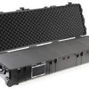 Pelican 1770 long carry case. Black. (138.6 x 39.6 x 21.9 cm) PRICE INCLUDES VAT & SHIPPING.