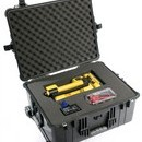 Pelican 1610 hard carry case. Black. (55.3 x 42.4 x 27cm) PRICE INCLUDES VAT & SHIPPING.
