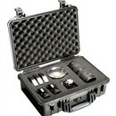 Pelican 1500 hard carry case. Black. (42.5 x 28.4 x 15.5 cm) PRICE INCLUDES VAT & SHIPPING.