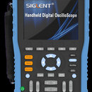 Siglent SHS820 200 MHz two channel handheld oscilloscope. Non-isolated inputs. PRICE INCLUDES VAT & SHIPPING.