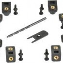 SKB 3i Series Panel Mount Clip Kit. PRICE INCLUDES VAT & SHIPPING.