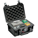 Pelican 1120 hard carry case. Black. (18.4 x 12.1 x 7.8 cm) PRICE INCLUDES VAT & SHIPPING.