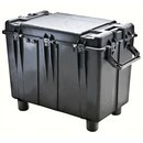 Pelican 0500 transport case. Black. (88.7 x 46.8 x 64.1 cm) PRICE INCLUDES VAT & SHIPPING.