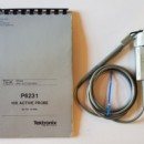 Tektronix P6231 10X Active Probe. Price includes VAT and delivery.