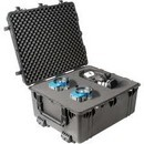 Pelican 1690 hard carry case. Black. (76.2 x 63.5 x 38.1 cm) PRICE INCLUDES VAT & SHIPPING.