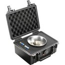 Pelican 1150 hard carry case. Black. (20.8 x 14.4 x 9.2 cm) PRICE INCLUDES VAT & SHIPPING.