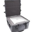 Pelican 1640 hard carry case. Black. (60.2 x 60.9 x 35.3 cm) PRICE INCLUDES VAT & SHIPPING.