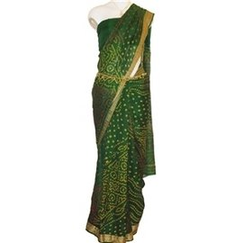 Saree - Green - 2011-03 images