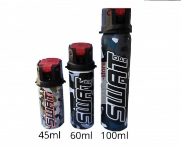 SWAT OPS Pepper Spray 45ml Direct Stream images