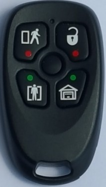 DSC Evolution Remote 5 Button images