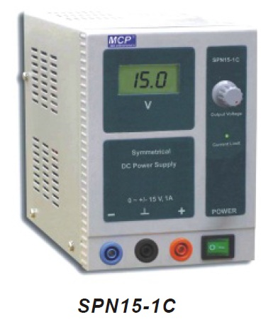 SPN15-1C Symmetric adjustable DC power supply