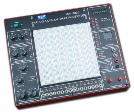 M21-7000 DIGITAL-ANALOG TRAINING SYSTEM images