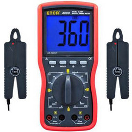 Citek 50840 Double Clamp Digital Phase Meter images