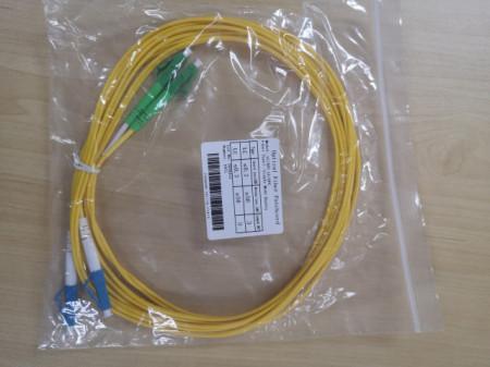 LC\APC – LC\UPC 5m : Single mode Duplex Patchcord