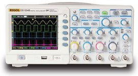 Rigol DS1204B 200MHz 4 channel Digital Oscilloscope images