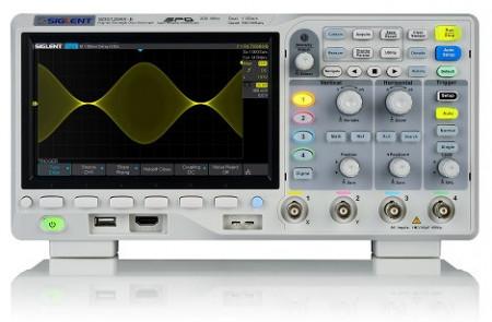 Siglent SDS1204X-E 200MHz Four channel oscilloscope images