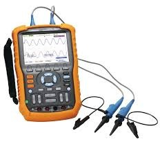 Siglent SHS1102 100MHz Isolated Handheld Oscilloscope images