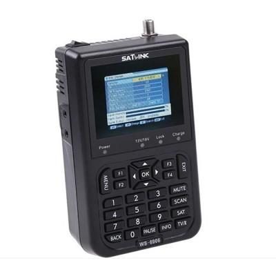Digital LCD Satellite Finder Meter DVB-S SatLink WS-6906 images