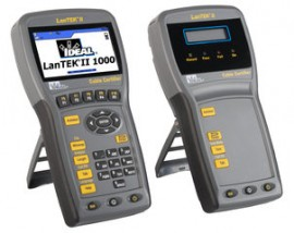 LanTEK II 350/500/1000 Cable Certifier
