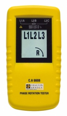C.A 6608  Phase rotation tester images