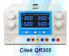 Citek-QR SERIES TRIPLE OUTPUT ADJUSTABLE DC POWER SUPPLY images