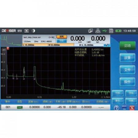 Deviser AE3100CM OTDR, 850/1300/1310/1550 nm images