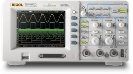 Rigol DS1102D 100MHz 2 Channel Digital Oscilloscope images