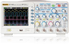 Rigol DS1104B 100MHz 4 Channel Digital Oscilloscope images