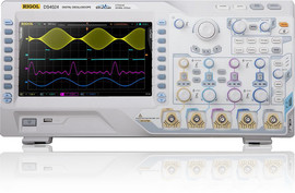 Rigol DS4024 200 MHz bandwidth 4 channel 4 GSa/s images