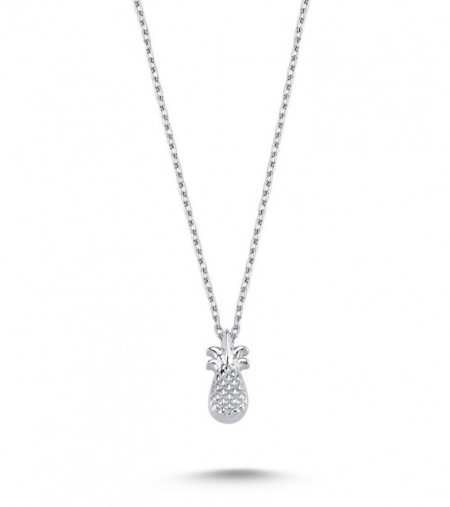 Pineapple Necklace Pendant Wholesale Sterling 925 Silver