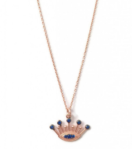 Rose Gold Evil Eye Wholesale Turkish Necklace Pendant