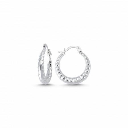Hoops Turkish Earrings Wholesale Sterling 925 Silver
