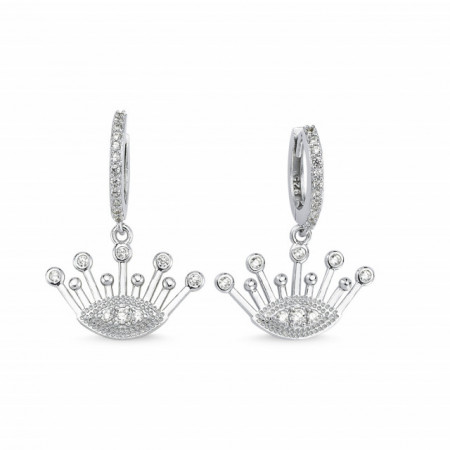 Crown Earrings Wholesale Sterling 925 Silver