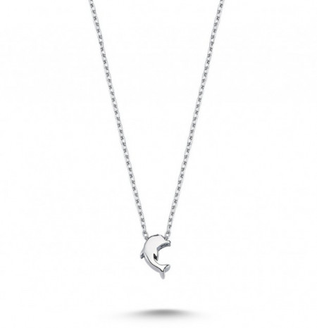 Dolphin Necklace Pendant Wholesale Sterling 925 Silver