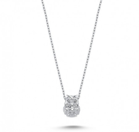 Owl Necklace Pendant Wholesale Sterling 925 Silver