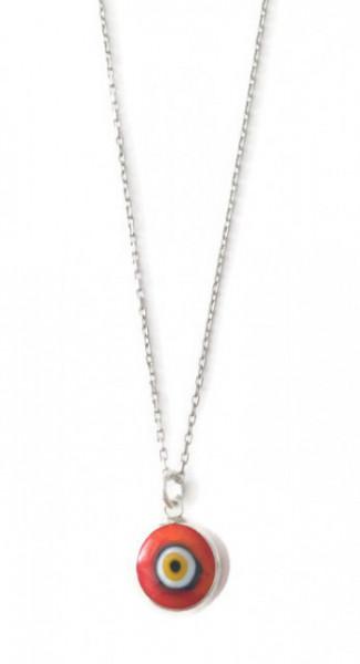 Red Nazar Boncugu Evil Eye Necklace Glass Wholesale Bead Silver 925