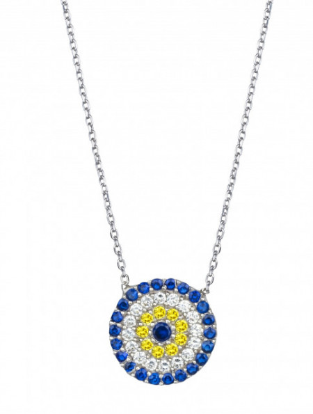 Wholesale Star Design Evil Eye Necklace