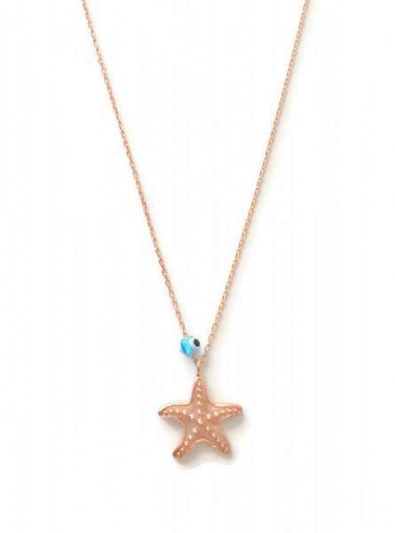 evil eye star necklace