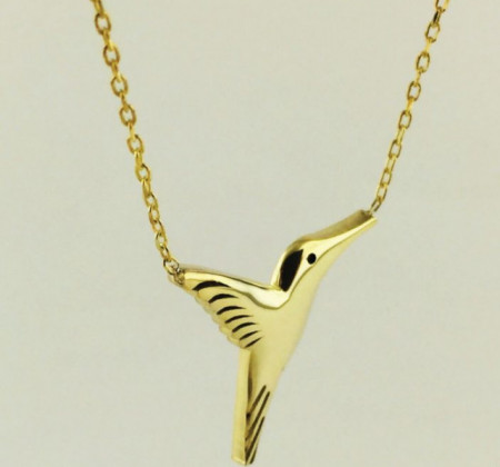 Bird Turkish Wholesale Silver Necklace