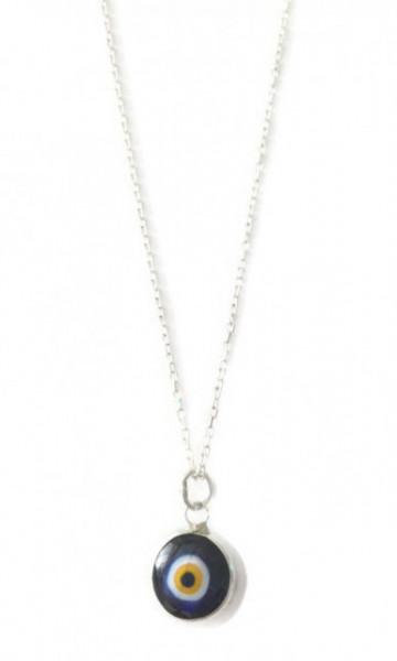 Black Evil Eye Beads Wholesale Silver 925 Pendant