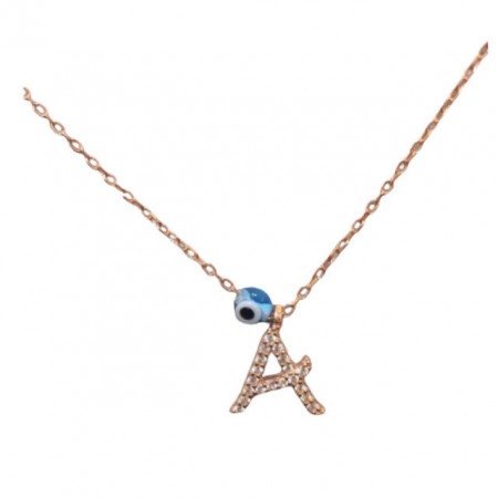Wholesale Letter A Design Necklace Pendant