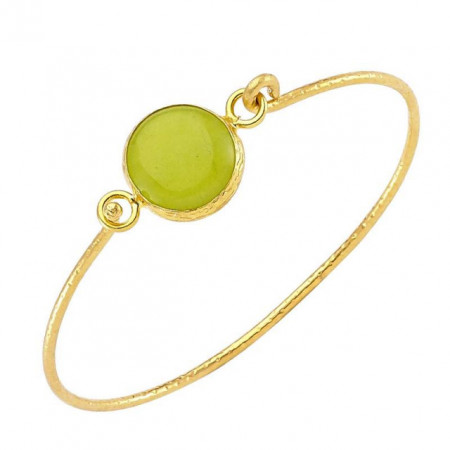 Handmade Natural Stone Bangle Free Size