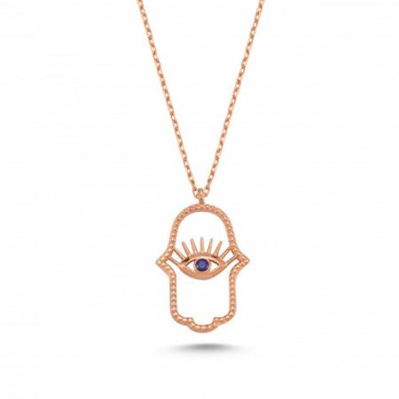 Hamsa Necklace Pendant Wholesale Silver 925